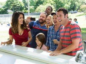 Grown Ups 2 Porn - The cast may be all smiles, but there's not much joy to be had in \