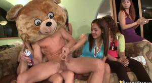 Dancing Bear Sex Party - Vulgar women invited to your party stripper and suck his dick