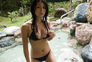 japanese hot spring - yukie kawamura onsen hot spring resort japan sexy hot girl