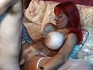 fuck the balloon - Redhaired Milf With Balloon-boobs Pounded Hard