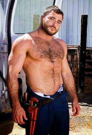 Muscular Bear - Photo collection, Muscle, handsome - MEN PORN STAR I need my pipe fixed to  Mr Bear Sir!