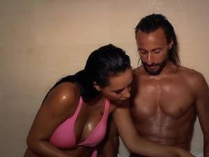 laly - Laly and Bob Sinclar in a Ad