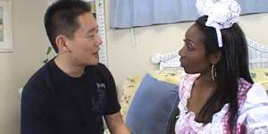 Beauty Dior Interracial Porn - AMBW Beauty Dior interracial with Asian guy