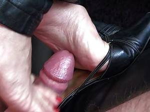 Heels Mule Porn - Mulejob With Cumshot - Soles Heels & Mules Full Of Cum
