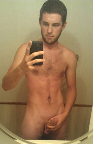 adult horny mirror self - Nude Guy Taking Self Pics In The Mirror