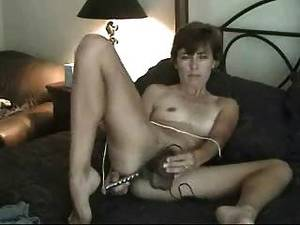 amateur hairy dildo - Amateur Mature Hairy Milf Mom Solo Masturbating With Dildo Toys