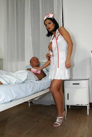 Big Black Butt Anal Nurse - Hot nurse Black Angelica has some anal pounding fun with her horny patient  ...