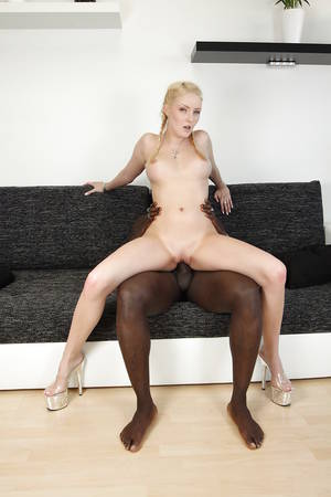 bella interracial porn - ... Bella Blond is having an interracial fuck that ends with cum on face ...