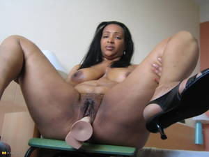 ebony mature pink pussy - EXTREME DEEP THROAT CHOKING. Black and white mature ...