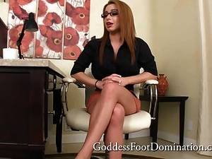 femdom foot fetish sex - Pathetic Co-worker - Foot Fetish Foot Worship Pov