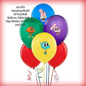 Dolly The Amazing World Of Gumball Porn - 60 ct AMAZING WORLD of Gumball personalized by TooPrettyPersonal | amazing  world of gumball balloons | Pinterest | Gumball