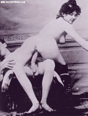 1800 Anal Porn - French Vintage Porn From The 1800S
