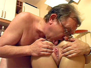 horny old man - Horny old man fucking and creaming a young sexy sweetheart