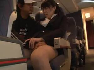 Girls Fucking On Planes - Japanese business woman groped in plane