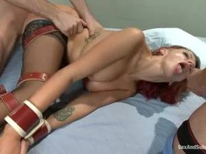 free porn tied up anal - bigXvideos Porn. Redhead Girl Gets Tied Up And Anally Fucked