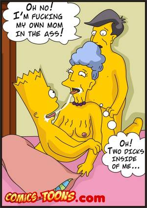 Marge Simpson Cartoon Porn Toons - Bart lisa simpson sex porn