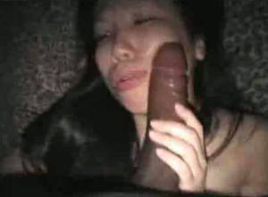 Cute Asian Bbc Porn - Asian waitress from Chinese buffet sucks my 11 inch long BBC