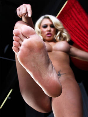 foot worship toys - Wife giving handjob with toy