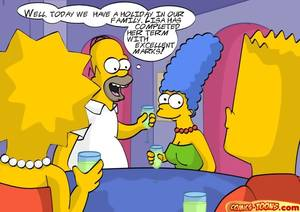 Marge Simpson Cartoon Porn Toons -