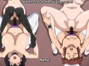 Hentai Lesbian Massage Porn - Hentai lesbian maids with strapon - black and white stockings