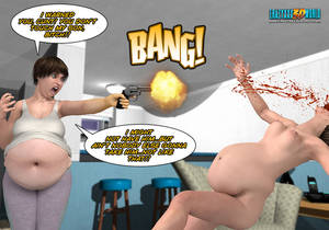 3d Mom Pregnant Porn - Absolutely crazy 3d porn cartoon with a guy being - Picture 5
