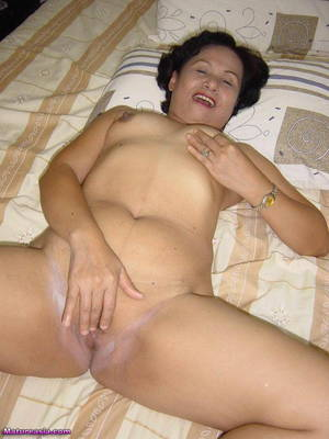 fat chinese grannies - Asian granny anal sex