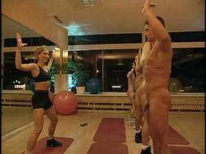 gym nude training - Naked Gym Training By Snahbrandy