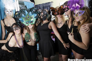Mask Party Porn - Masquerade Ball Preview