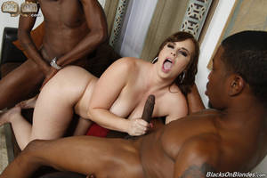 gangbang black ass - 015 interracial DP gangbang Virgo Peridot ...