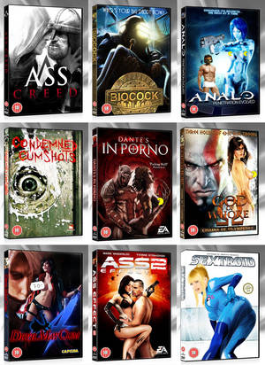 Nintendo Porn Happy Ending - Very funny collection of famous video games like Halo or Assasin's Creed,  photoshoped with porn names. More infos here.