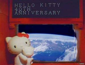 British Schoolgirl Porn - Hello Kitty in space