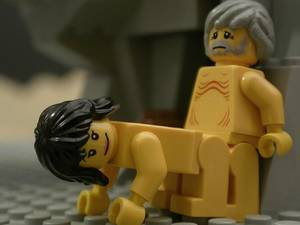 Naked Lego Porn - lego lot and his daughter
