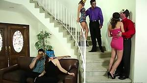 Mask Party Porn - A masked party turnes into a proper hardcore orgy in just minutes - Tube Ac