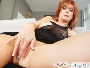 70s College Redhead Porn - Milf Thing Redhead milf gets her mature pussy fucked