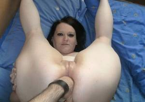 big fat british pussy - An image by Amateursluts: British goth slut getting her asshole fisted -  lucky slut!