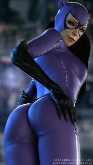 Catwoman Sfm Porn - Catwoman butt pose by RedDoe