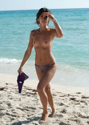miami beach model nude - naked Nude beach