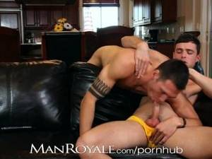 lesbian monster anal - Manroyale Hairy Hunks Suck Cock Instead Of Watch Tv
