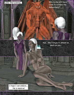 lesbian monster anal - ... picture #3 ::: 3d elf sluts were fucked hard by lesbians and monsters  ...