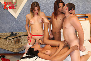 Cartoon Shemale Orgy - Shemales From Hell Had a RAUNCHY TRANNY ORGY…