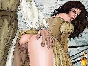 erotic anal sex drawings - Huge Tits Naughty Anime Babe Takes Anal Bored By Sexy Guy