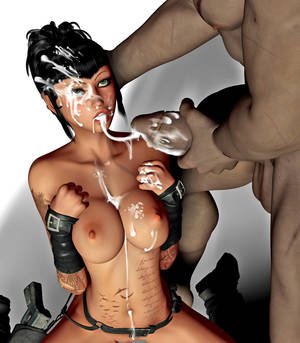 3d blowjob gallery - ... picture #2 ::: 3d creature porn presents delicious monster cock  performance with handjob ...