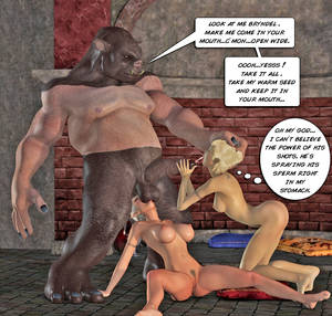 Dark Elf 3d Monster Porn - ... picture #6 ::: Young dragon licks dark elf hottie's juicy pussy. 3d evil