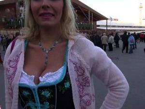 german public oktoberfest - German Slut Gets Fucked At The Oktoberfest