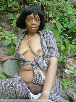 ebony granny fisting - Black granny getting naked outdoors and - XXX Dessert - Picture ...