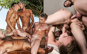 Double Penetration Gay - Is A Double Penetration Hotter When It's Bareback?