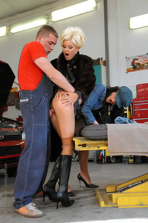 Clothed Porn Garage - Fully Clothed Pissing