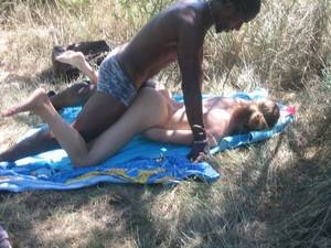 Amateur Wife Outdoor - Amateur cuckold with black boy outdoor
