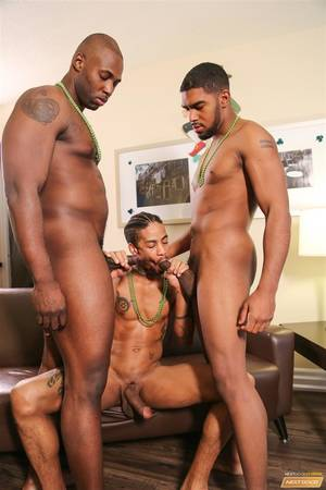 ebony monster cock threesome - ... Next-Door-Ebony-Nubius-and-Jin-Powers-and- ...