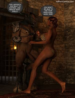 Gay Minotaur Porn - Escape From Lair Of The Minotaur Sex Comic
